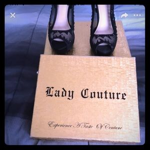 Lady couture dress shoes size 7